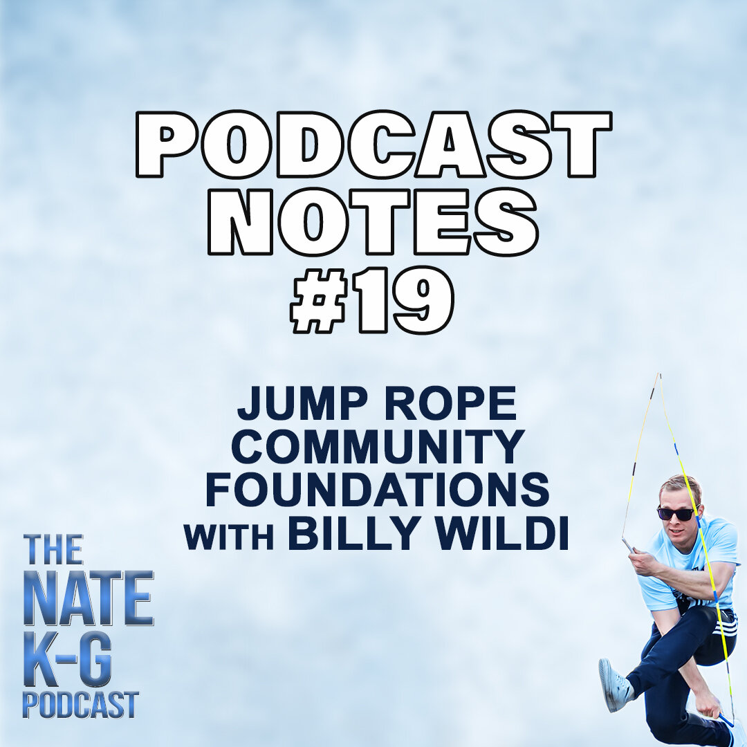 Jump Rope Community Foundations with Billy Wildi (#19)