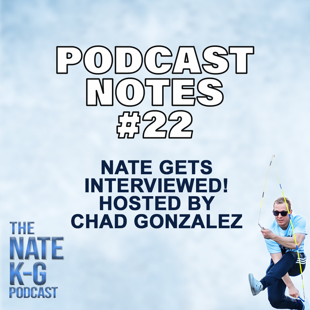 Nate Gets Interviewed! Hosted by Chad Gonzalez (#22)
