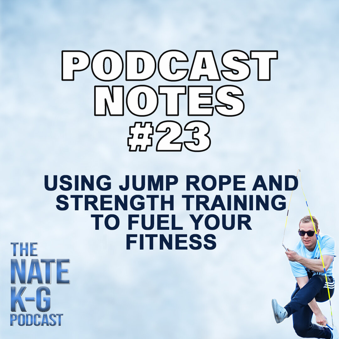 Using Jump Rope and Strength Training to Fuel Your Fitness with Davina Dalgetty (#23)