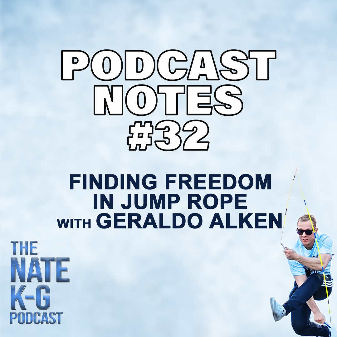 Finding Freedom in Jump Rope with Geraldo Alken (#32)